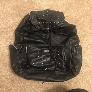 Black Victoria's Secret Studded backpack